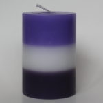 Charged Psychic Peace Pillar Candle - Hand - prepared by Sky